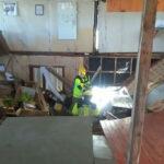 Chile: Templo evangélico se desploma e incendia por exceso de peso, 10 heridos