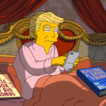 Los Simpsons se burlan de primeros 100 días del presidente Trump (VIDEO)