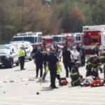 EEUU: Camioneta embiste a multitud en subasta, deja 3 muertos y 9 heridos (VIDEO)