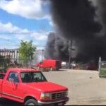EEUU: Jet privado se estrella contra tres edificios cerca al aeropuerto, 2 muertos (VIDEO)