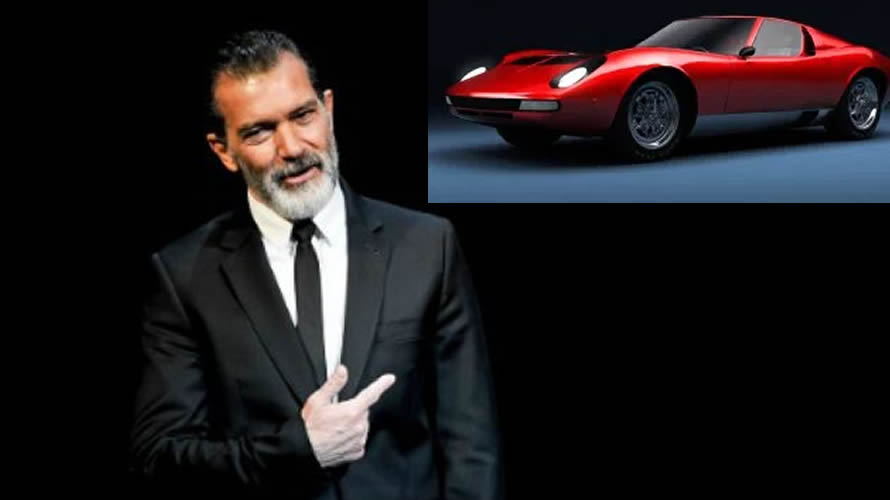 Antonio Banderas llevará a Lamborghini a la pantalla grande
