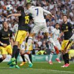 Real Madrid gana a Atlético de Madrid con 'hat trick' de Cristiano Ronaldo