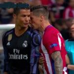 YouTube: ¿Qué se dijeron Cristiano y el Niño Torres durante el partido?