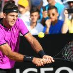 Masters de Roma: Del Potro avanza y en cuartos de final será rival de Djokovic