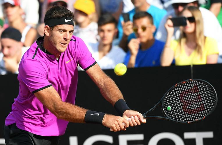 #Tenis Djokovic y Del Potro se verán las caras en Roma