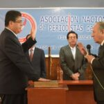 Presidente ANP juramenta a directiva de la ANP Abancay