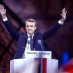 Macron gana segunda vuelta y asegura que defenderá a Francia y Europa (VIDEOS)