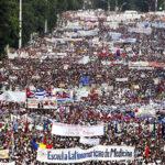 El mundo recordó al Che y Fidel en espectacular marcha por Día del Trabajador