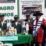 Agricultura rehabilitará 180 cobertizos y ampliará cobertura del seguro agrario