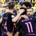Liga Santander: Barcelona golea 4-1 a Las Palmas con 'hat trick' de Neymar