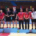 Perú en bádminton gana 4 medallas en XXI Panamericano de Mayores en Cuba