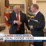 Trump corta abruptamente entrevista al preguntarle por espionaje de Obama