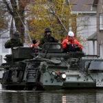 Canadá: Mil 200 soldados evacuan poblaciones para hacer frente a mega inundación (VIDEO)