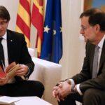 Rajoy rechaza negociar con nacionalistas catalanes una consulta soberanista