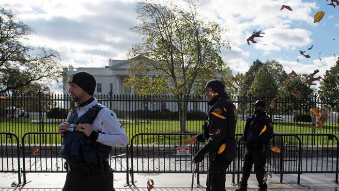 Detienen a una persona por saltar barrera en la Casa Blanca