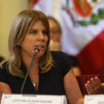 Ministra de Desarrollo critica pedido para que Vizcarra renuncie a vicepresidencia