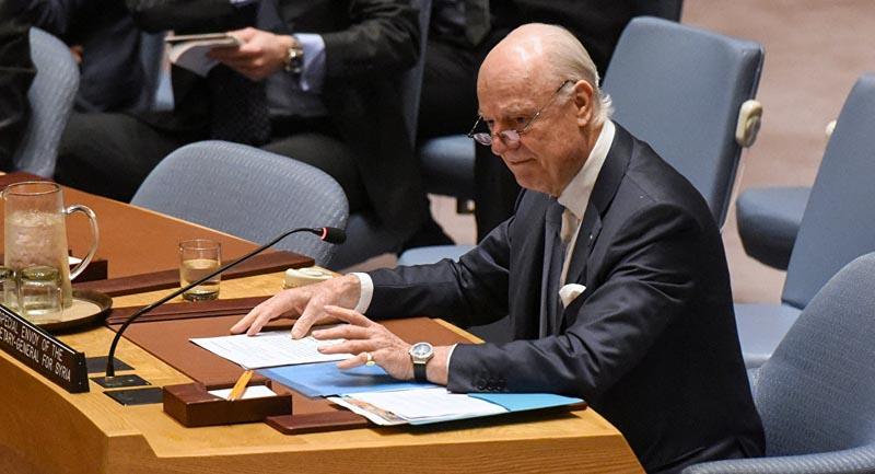 Mistura asegura que la ONU no pretende redactar la nueva Constitución siria