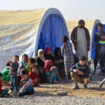 ONU abre nuevo campamento para desplazados por combates en Mosul