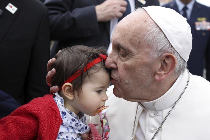 La visita del papa Francisco al santuario de Fátima