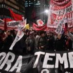 Brasil: Miles de manifestantes salen a las calles exigiendo renuncia de Temer
