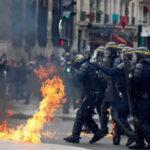 Francia: Enfrentamientos en protesta contra Le Pen en Día del Trabajador