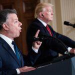 """Santos tras su encuentro con Trump: """"Nosotros no construimos muros"""""""