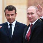 Macron recibe a Putin en Versalles en la primera visita de un jefe de Estado