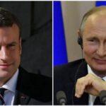 Francia: Macron recibirá a Putin el próximo lunes en Versalles