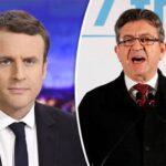 Mélenchon quiere imponer cohabitación a Macron en legislativas francesas