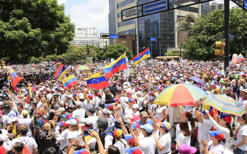 No más represión: Mujeres venezolanas