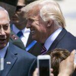 Donald Trump llega a Tel Aviv para su primera visita a Israel y Palestina