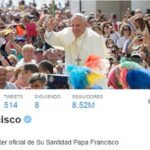 Papa Francisco es el líder mundial con más seguidores en Twitter