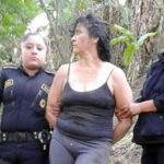 "Policía salvadoreña captura a temible sicaria ""La Patrona"" que fugó de cárcel (VIDEO)"