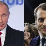"""Rusia: Tras los ataques Putin urge a Macron """"superar la desconfianza mutua"""""""