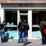 Francia: Roban casi un millón de euros en relojería de lujo en París