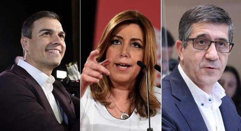 Candidatos a liderar el PSOE exponen sus propuestas