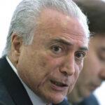 """Brasil: Fiscal denunció a Temer ante Tribunal Supremo por """"corrupción pasiva"""""""