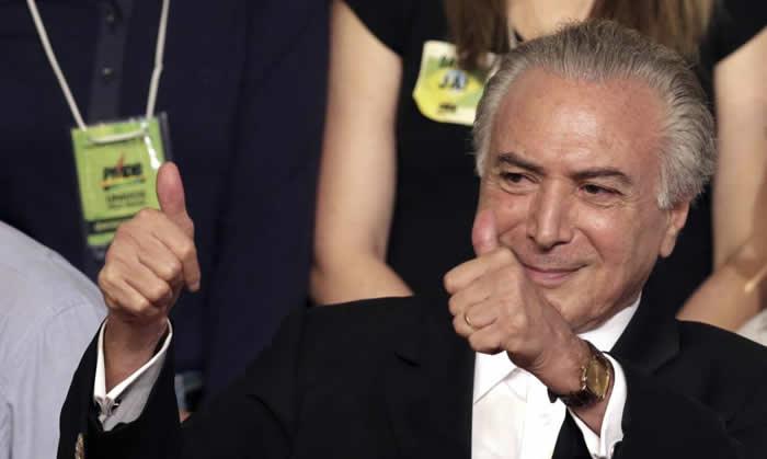 Presidente Temer minimiza las protestas y dice que sigue avanzando — Brasil