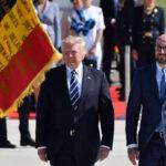 Bélgica: Marchas de protesta por la visita del presidente Donald Trump (VIDEO)