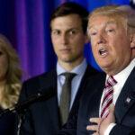 """Trump afirma tener """"total confianza"""" en Kushner pese a pesquisas del FBI"""