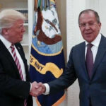 Washington Post: Trump reveló informe secreto a ministro ruso Lavrov