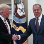 Donald Trump dialogó en la Casa Blanca con  canciller ruso Sergei Lavrov (VIDEO)