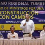 Zavala: Juntos haremos una reconstrucción diferente y sin corrupción