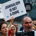 Periodistas y activistas exigen a UE presión a Turquía por libertad de prensa
