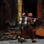 Incendio: Contaminación del aire superó 8 veces el promedio (FOTOS)