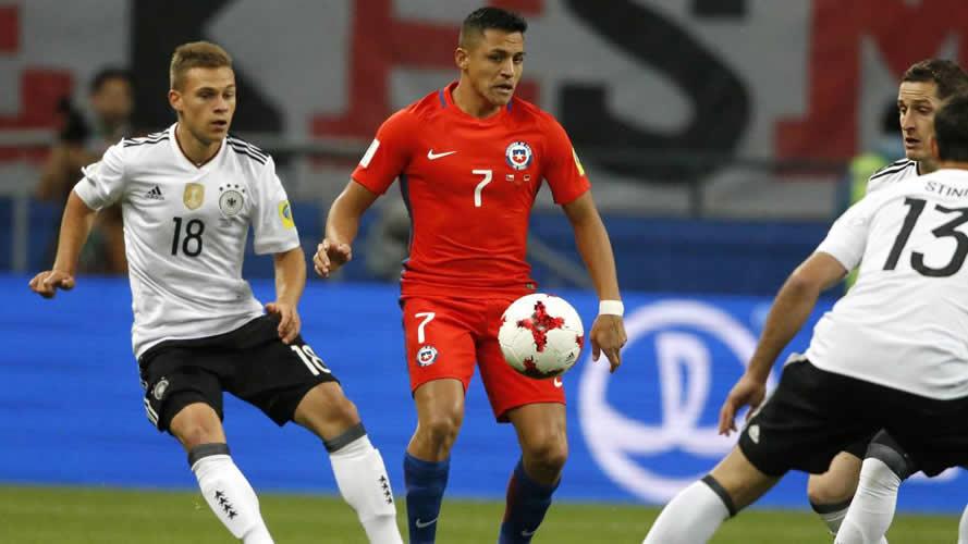 Chile empató con Alemania y los dos tienen grandes chances de pasar