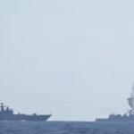 Siria: Naves rusas lanzan 6 misiles contra bases del Estado Islámico (VIDEO)