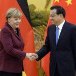 """Merkel pide reforzar relación con China """"en tiempos de inseguridad global"""""""