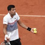 Roland Garros: Djokovic derrota en más de 3 horas y en 5 sets a Schawartzman