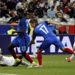 Francia en un entretenido encuentro amistoso gana 3-2 a Inglaterra